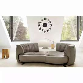 Medium size jam dinding angka akrilik 3D 40-70 cm anti air