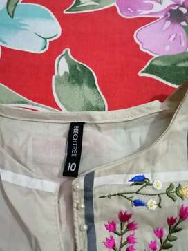 Brand new Beechtree lawn embroidered shirt