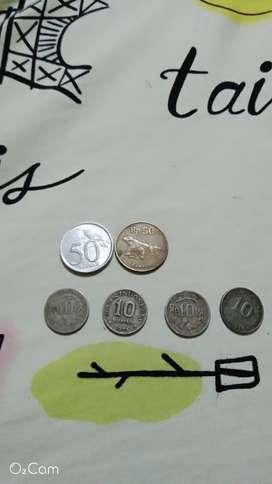 Koin kuno buat koleksi maupun mahar