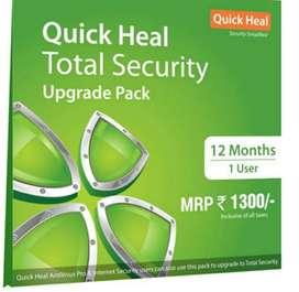 Quick Heal Total Security antivirus 1 year