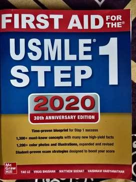 USMLE STEP 1 FIRST AID 2020