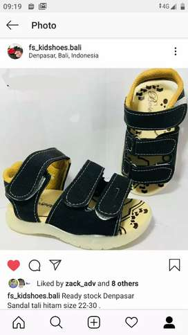Sandal anak size 22,27,29