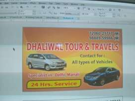 Dhaliwal Travel. (Our Ride Your Way) 24 Hours