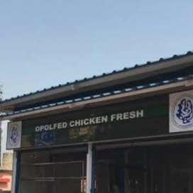 Chicken cutting shop. ରହିବା ଓ ଖାଇବା ଆମ ତରଫରୁ