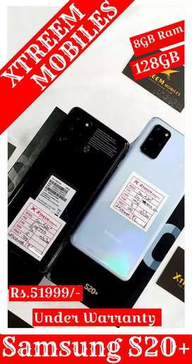 Samsung S20+..Under Warranty.. 100% Brand New Condition..