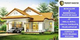 Bunglows and Residential Plots On Sale.