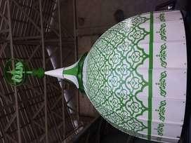 Kubah Masjid Dekoratif Ukuran Diameter 2 Meter (tanpa plafond interior