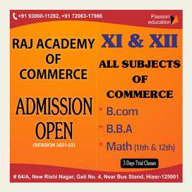 Commerce classes ..home tution also available sec 13