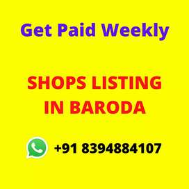 Shops for Rent Listing in Baroda