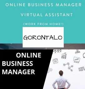 DICARI ONLINE BUSINESS MANAGER AREA GORONTALO