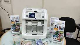 usa brand cassida note sorting machine with fake note detection
