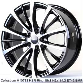 Velg murah harga distributor COLLOSEUM H10783 HSR R18X8 H5X114,3 ET42