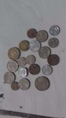 Uang koin kuno aja