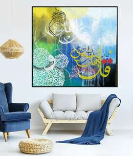 Hand made canvas painting
