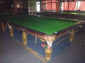 Snooker table steel cushion Italian slate