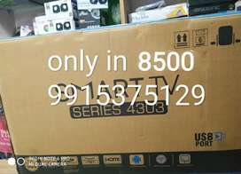 40 inch android led TV with 1 year warranty