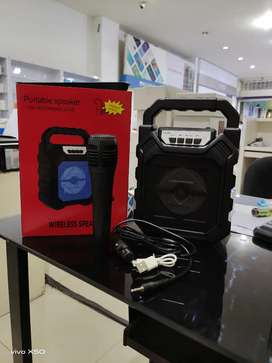 SPEAKER PORTABLE /Wireless/bluetooth speaker Gratis mic
