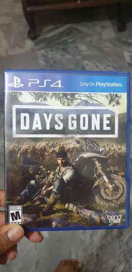 Days gone ps4 exclusive. Only for sale