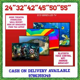 BUY LED TV GET HOME THEATER FREE MEGA DISCOUNT SALES 1 YEAR WARRANTY