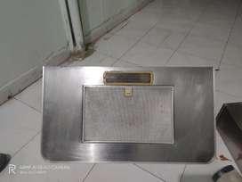 Auto clean kitchen hood
