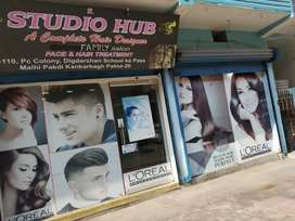 Hair designer Saloon