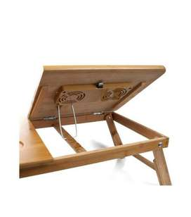 IN NEW CONDITION WOODEN LAPTOP TABLE AVAILABLE IN LOW PRICE