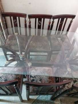 6th chair dining tAbles for sale