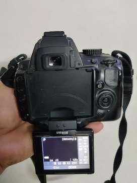 Nikkon D5000 With 18- 55 mm AF lens