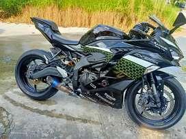 Kawasaki ninja zx25 tahun 2020