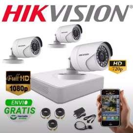 Promo paket kamera CCTV kualitas 2mp keamanan rumah anda dan kantor