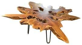 Agus meja makan meja resto kayu meh mebel meja suar MJS0717