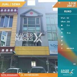 Disewakan Ruko Pinggir Jalan Sultan Agung Kota Semarang