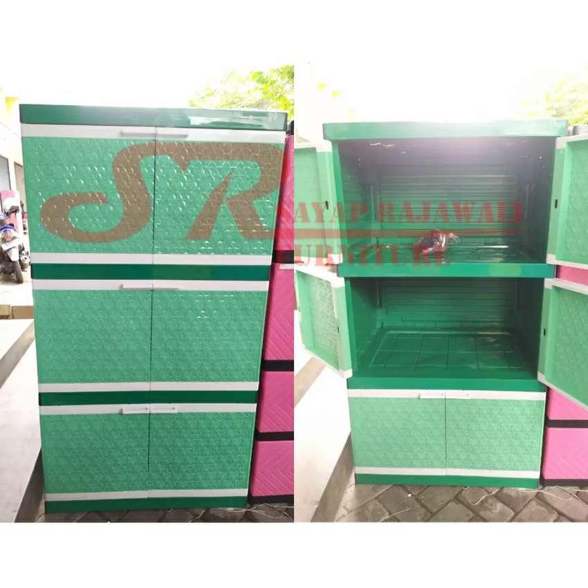 Lemari Plastik Club Max Susun 3 Murah Area Jogja(dwi)