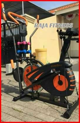Sepeda fitnes orbitrack 5in1 bisa cod