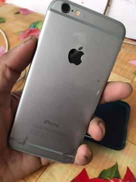 I phone 6/128 gb chrgr gud condtion