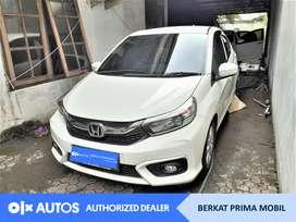 [OLXAutos] Honda Brio Satya 2019 E 1.2 Bensin A/T Putih #Berkat Prima