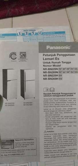 Kulkas PANASONIC NR-BN269N SS