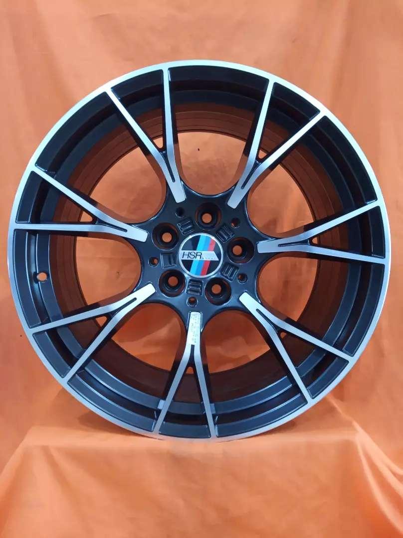 Bisa tukar tambah Velg WURZEL Hsr Ring19x85/95 Buat mobil BMW 0