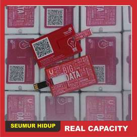 USB Kartu Custom Promosi (Souvenir Bentuk Model Card Cetak)