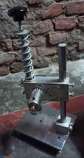 Panching machine aur tikki machine