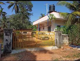For SALE of 12cents area with house for 76lakh