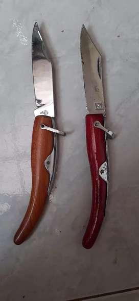 Jual sepasang pisau lipat lawas yg minat wa aja thx olx