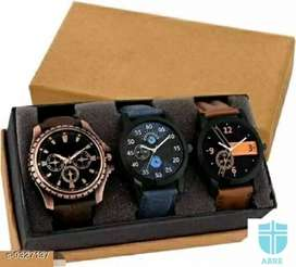 watchs multiple of 3 COD AVAILABLE FREE DELIVERY ALL INDIA
