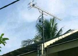 Paket antena dan parabola terdekat pasang baru antena tv full hd