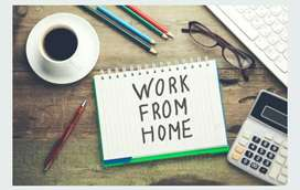 Hand writing home besed job available