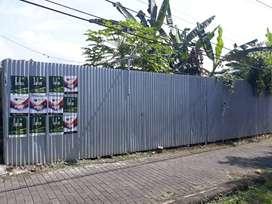 Dijual Tanah Kosong Siap Bangun,  Lt. 103 M2, tengah kota Salatiga