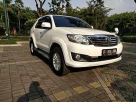 Fortuner g matic diesel 2012 paket kredit termurah