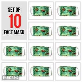 Fancy design mask pack of 10