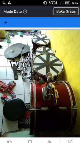 Jual drum 1 set