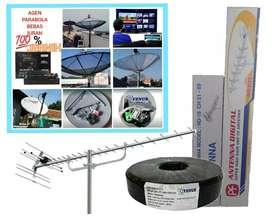 jasa instalasi pasang parabola dan antena TV digital